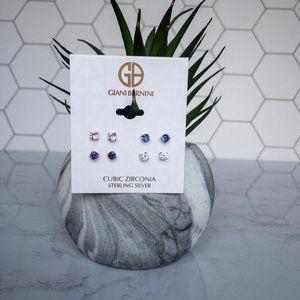 Giani Bernini Sterling Silver Multicolor Earrings